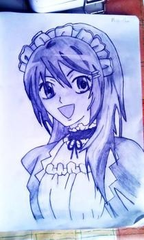 Misa Chan Drawing