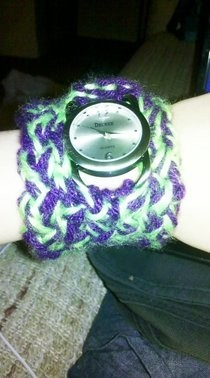 Knitted Watchband