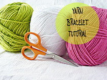 Diy Yarn Bracelet