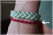 Half Knot Spiral Bracelet