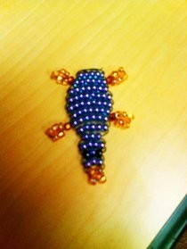 Simple Beaded Platypus