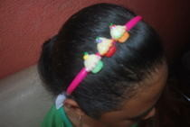 Cupcake Headbands