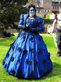 The Blue Elf Queen Costume
