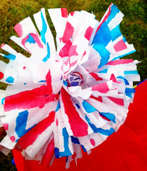 Patriotic Pom Poms