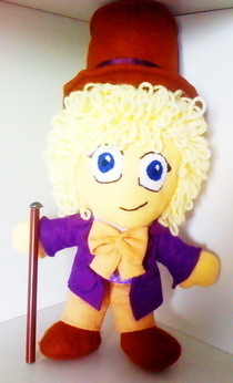 Chibi Willy Wonka Plush Doll