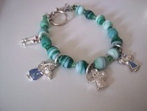 Christian Charm Bracelet