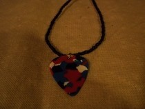 First Guitar Pick Necklace