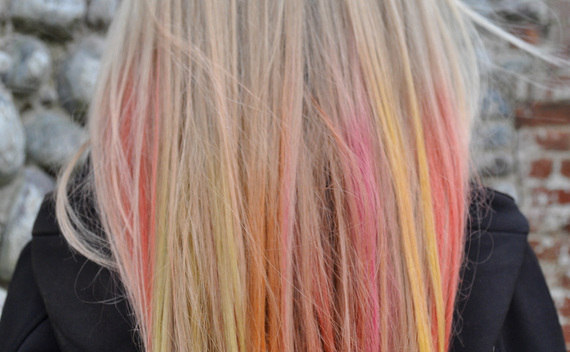 Coloured Hair Using Chalk Pastels!