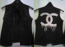 Chanel Denim Vest