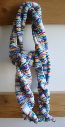 Rainbow Twist Scarf