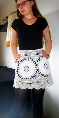 Lace Skirt Out Of GrannyS Tablecloth