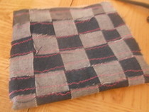Jean Checkered Bag