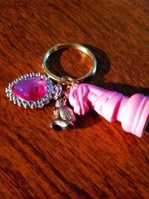 Girly Girl Keychain