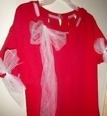 Bows 'N Tulle 20 Minute T Shirt Refashion 