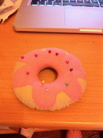 Doughnut Pincushion