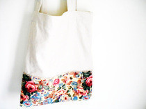 My First Diy Tote Bag Simple Style