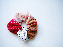 Floral X Dots Hairband
