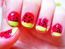 Watermelon Nails!!!