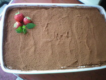 Strawberry Tiramisu