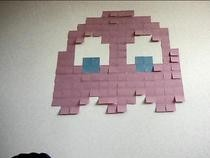 Post It Note Wall Art