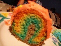 Real Rainbow Cake!