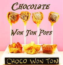 Chocolate Won Ton Pop