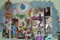 Decorative Collage Wall Hanging