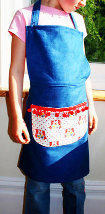 Child's Adjustable Apron