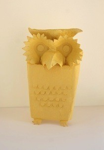 Owls From An Egg Carton