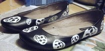 Alexander Mc Queen Inspired Skull Ballet Flats