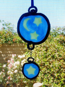 Polymer Clay Stained Glass