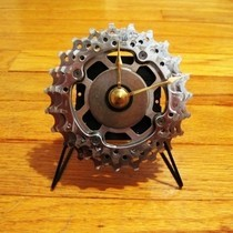 Upcycled Campagnolo Road Bike Cassette Clock