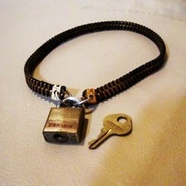Custom Locking Brass Zipper Choker