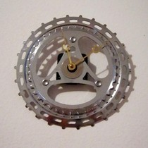 Upcycled Vintage 3 Arrows Road Bike Chain Ring Clock