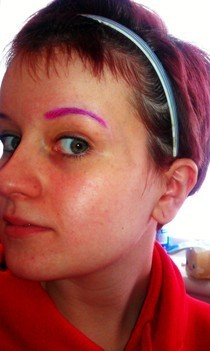 Colorful Eyebrows