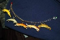 Flying Cats Charm Bracelet