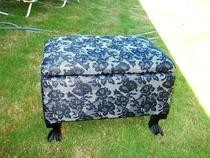 Lace Footstool