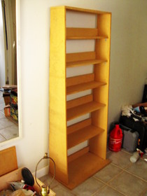 Bookcase From Scraps