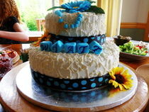 Baptismal Cake