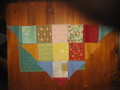 How to make a shawl. Quilted Shawl - Step 13