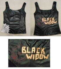 Black Widow Tank Top
