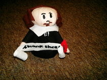 Shakespeare Plushy
