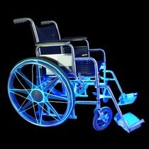 Wheelchair Ez El Wire Safety Lighting