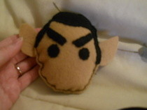 Spock Rattle