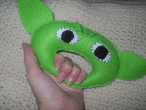 Yoda Rattle