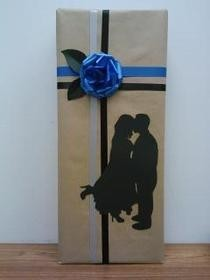 Silhouette Wrapping Paper
