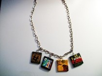 Death Cab For Cutie Album Necklace