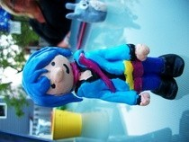 Ramona Flowers Clay Sculpture