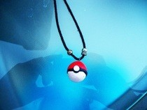 Pokeball Necklace