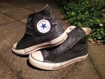 Diy Glitter Converse